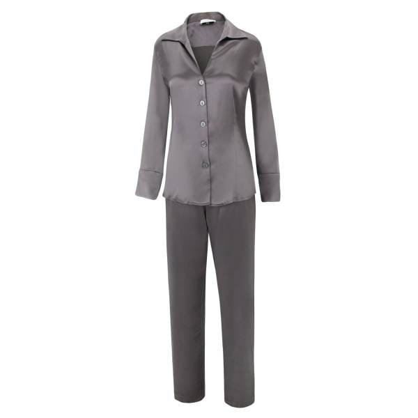 Seiden-Pyjama - Sloane Street - terra